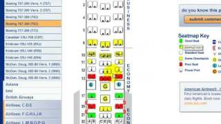 How to find the best seat on an airplane