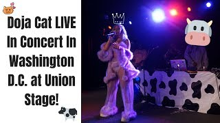 Doja Cat LIVE In Concert In Washington D.C. at Union Stage! (Moo!, So High, Go To Town, & More)!