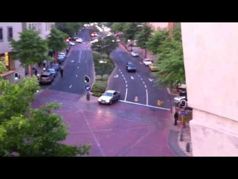 High Speed Chase at Melrose Arch, Johannesburg - 5 October 2010