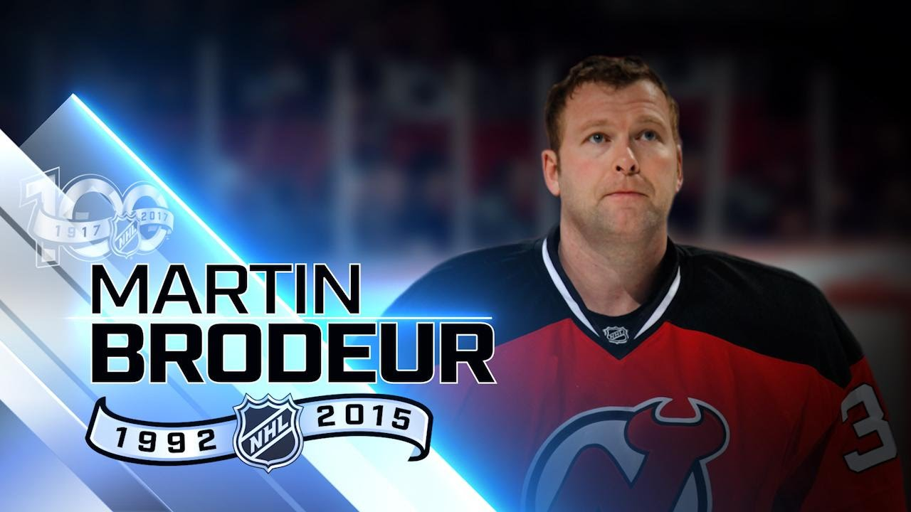 Martin Brodeur Owns Many Key Career Goalie Records Youtube
