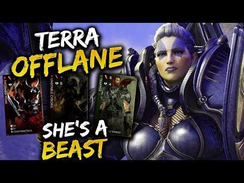 Paragon Terra Offlane Gameplay - SHE'S ACTUALLY A BEAST!!!