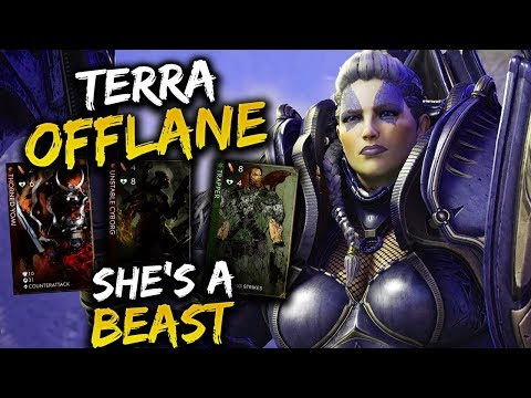 Paragon Terra Offlane Gameplay – SHE'S ACTUALLY A BEAST!!!