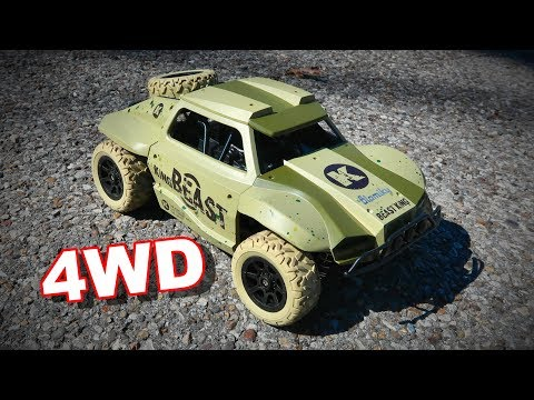 Army Green Blomiky D181 Amazon Truck - 4WD Electric RC - TheRcSaylors