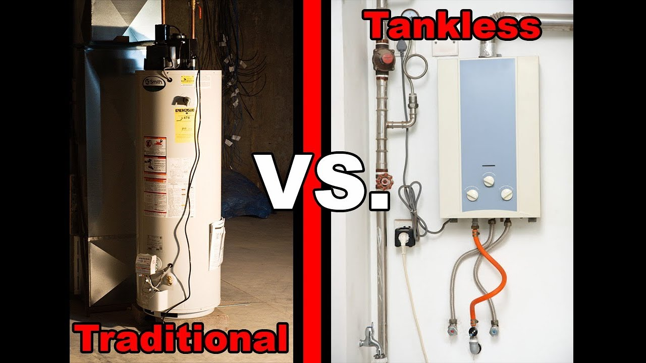 tank vs tankless water heaters which one is better youtube. Black Bedroom Furniture Sets. Home Design Ideas