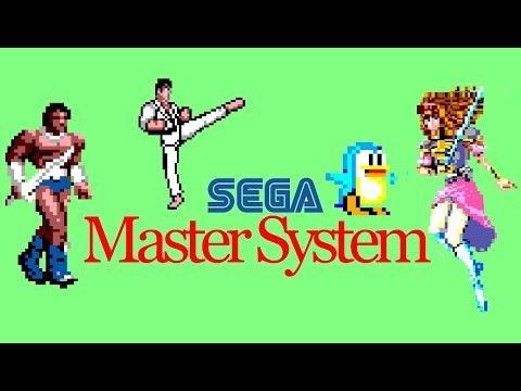Top 5 Best Sega Master System Beat Em Up / Puzzle / RPG Games