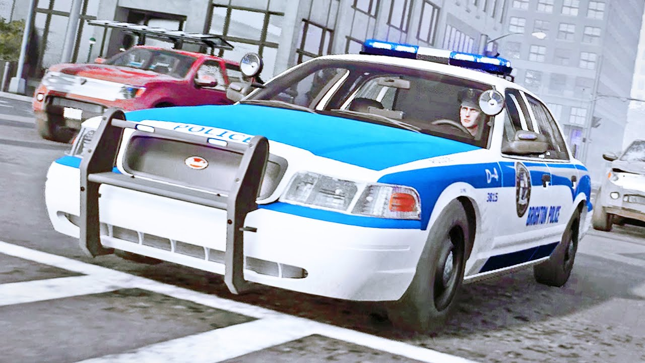 Never-ending Accidents in Police Simulator!