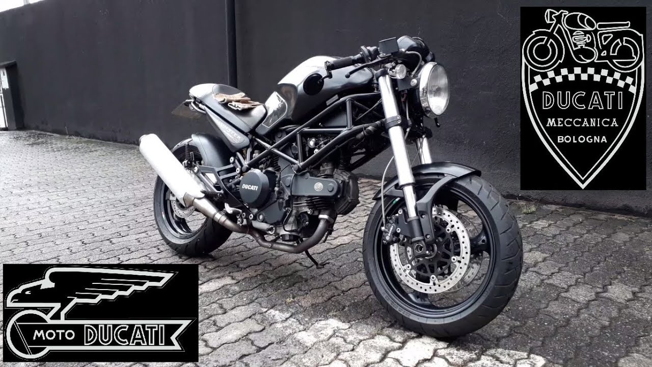 Ducati Monster 695 Cafe Racer C Guidão Clubman Ep 051 Youtube