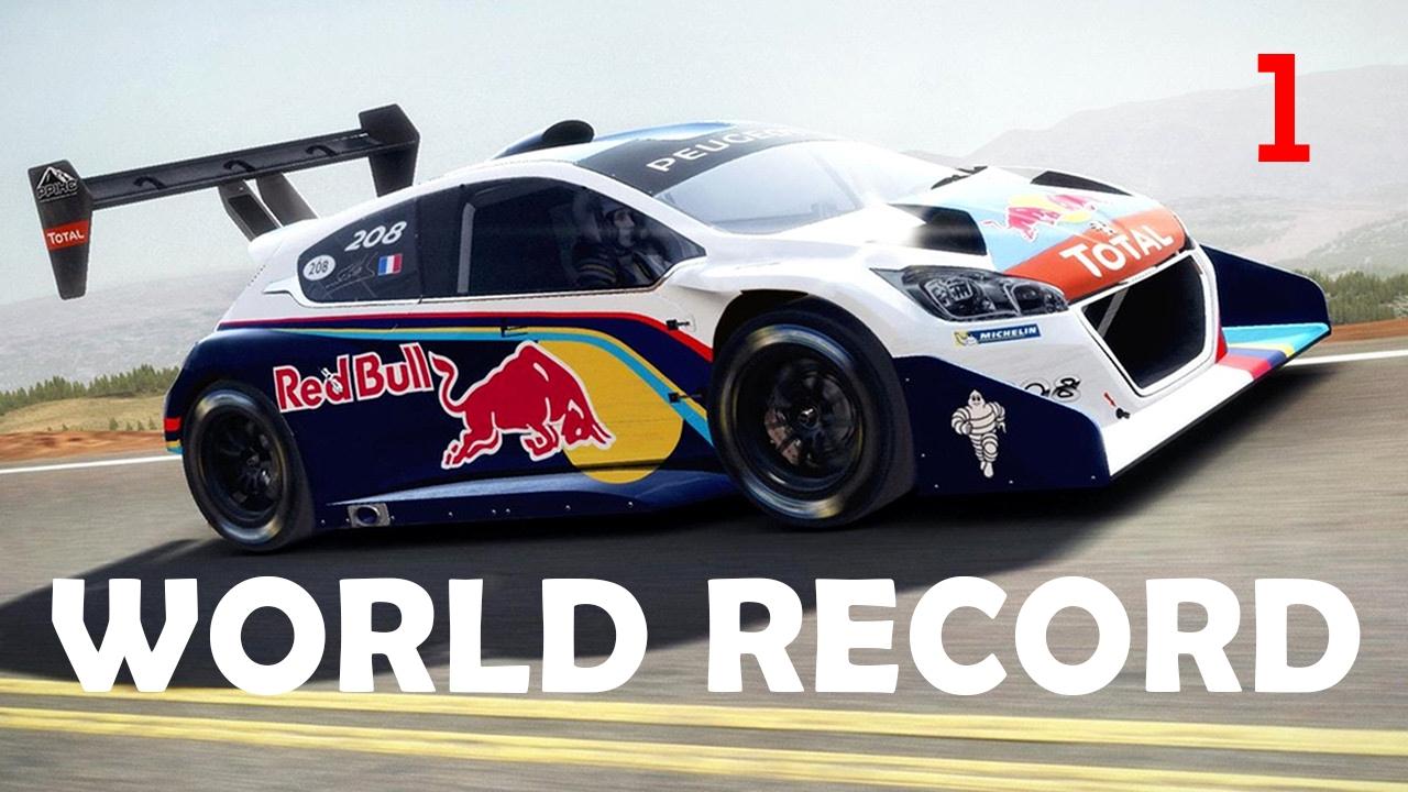 Dirt Rally New World Record Pikes Peak Hillclimb Sector 1