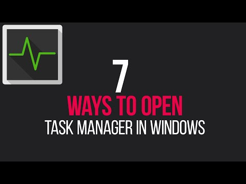 7 Ways To Open Task Manager In Windows