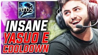 YASUO CAN GET 0.05 SECOND COOLDOWN ON HIS E? BETTER THAN URF! ft. Yassuo - Challenger to RANK 1