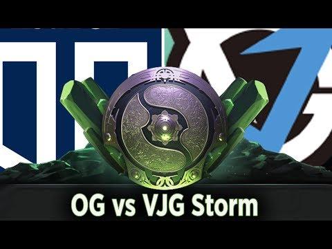 The International 2018 Live, OG Vs VGJ Storm, Main Event Day 1 #ti8