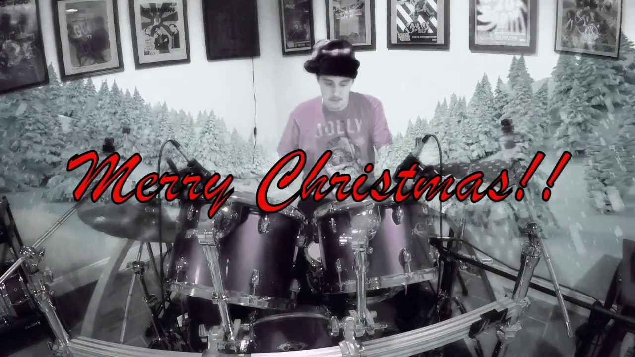The Little Drummer Boy - Drum cover - Bob Seger - YouTube
