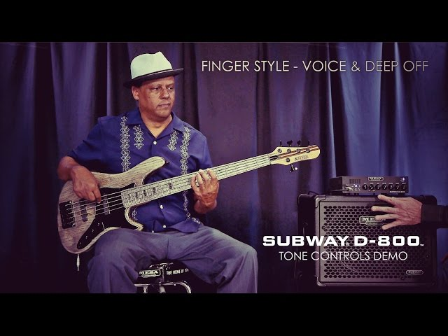 MESA/Boogie Subway® D-800™ Tone Controls Demo