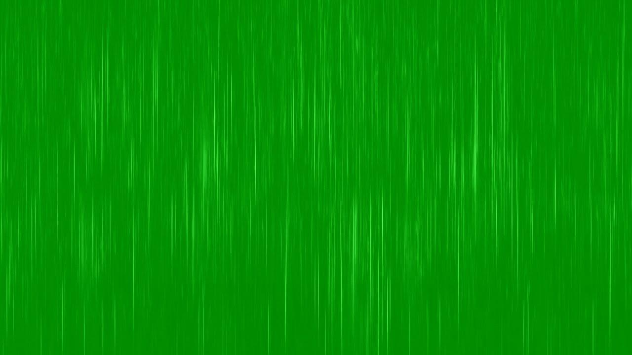 GREEN SCREEN REALISTIC RAIN EFFECT