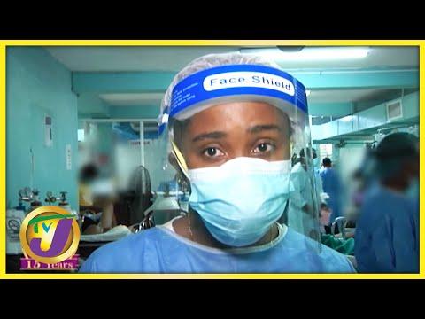Savanna-la-Mar Hospital Nurses Buckling under Covid Pressure | TVJ All Angles - August 25 2021
