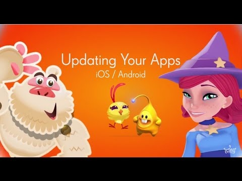 How To Update Your King Game Apps -  IOS & Android - Tutorial