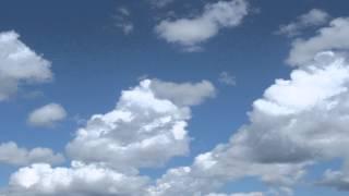 bewegen von Wolken - hintergrund-video