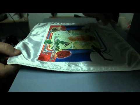 Изготовление подушки сублимационным методом печати