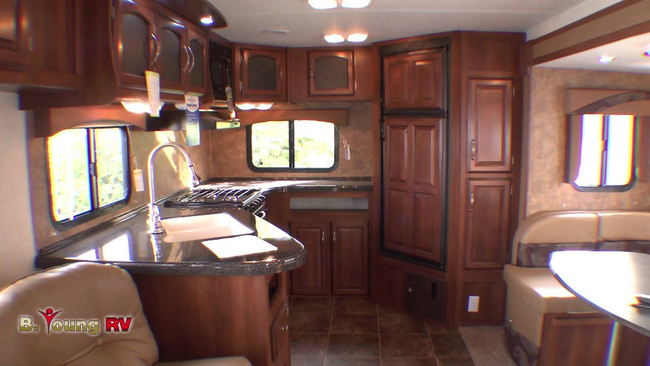 Stock 2445 2013 30 Foot Freedom Express Travel Trailer