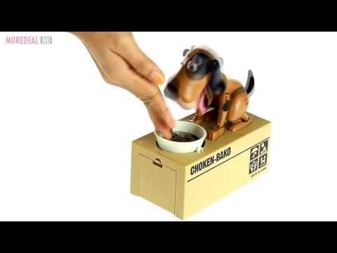 Moredeal.my - Novelty Coin Bank: Mechanical Dog Saving Box
