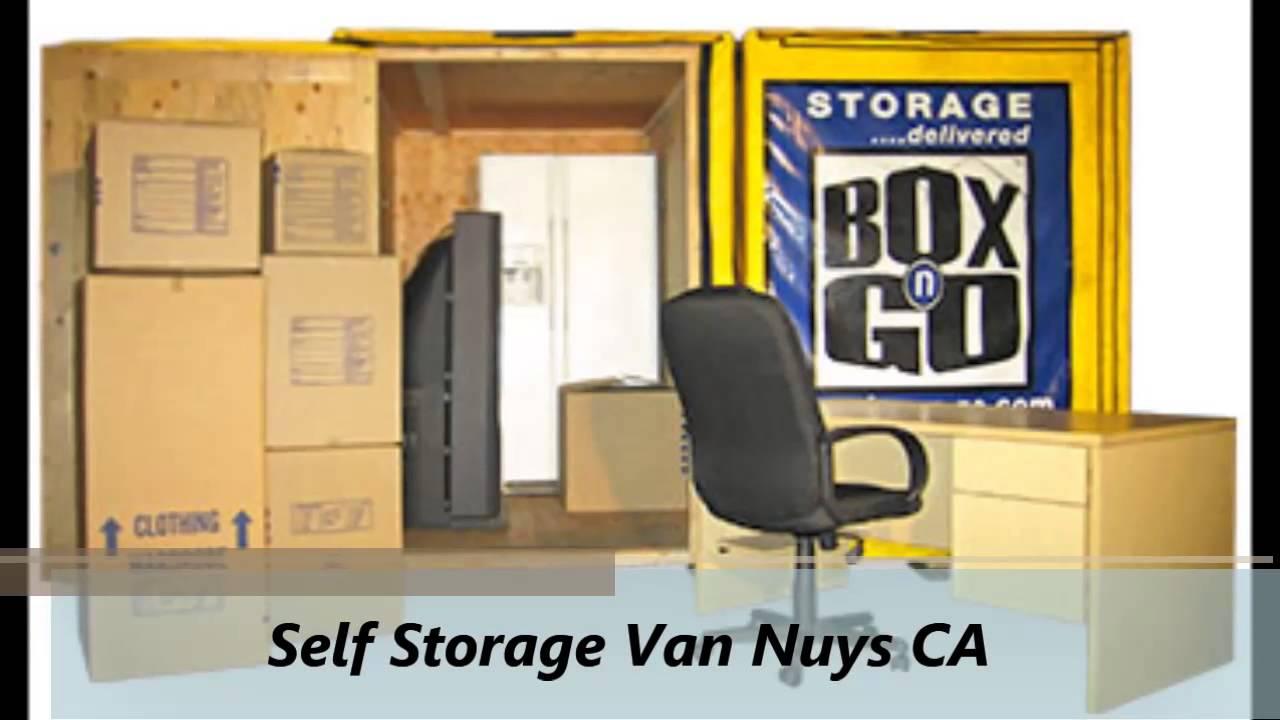 Box N Go Self Storage In Van Nuys California