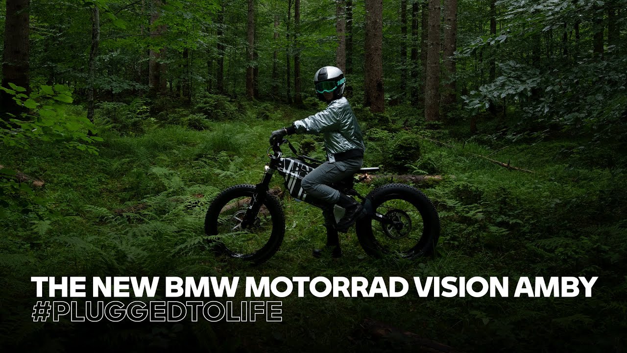 MOVE YOUR OWN WAY! The new BMW Motorrad Vision AMBY