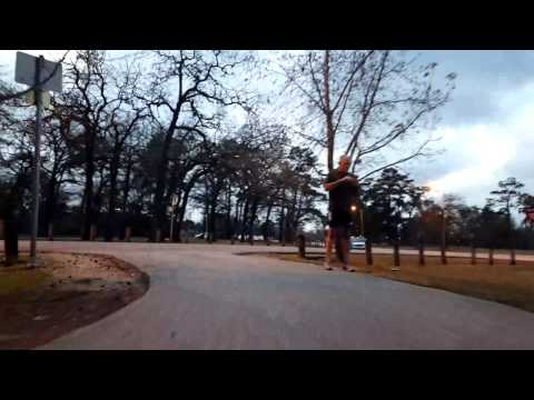 BigRigTravels Live! Segway Adventures in Memorial Park in Houston, Texas