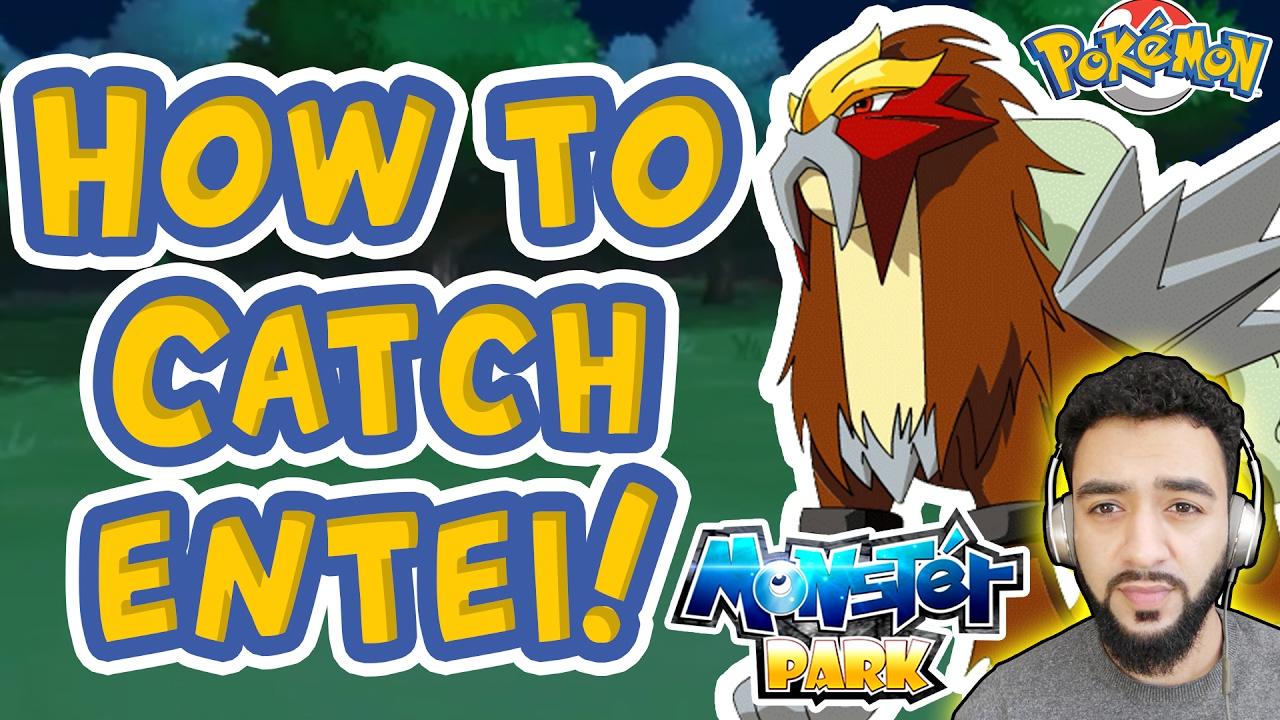 pokemon gold how to catch entei