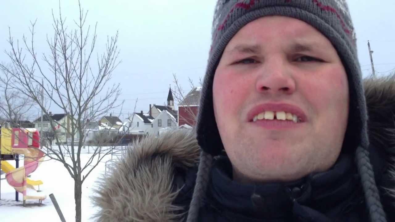 very cold weather hits sydney nova scotia youtube