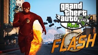 GTA V Mods! | The Flash Mod! | MORE SPEED!