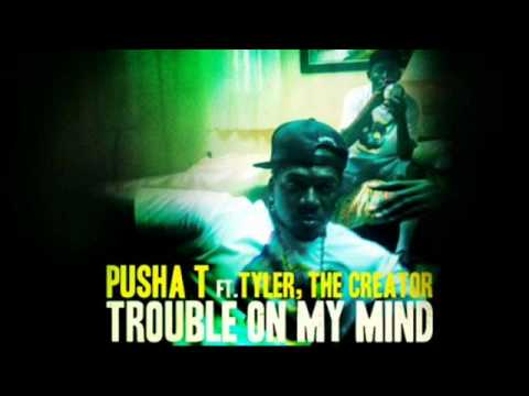 Trouble On My Mind (Instrumental w/HOOK) Pusha T ft. Tyler, The Creator