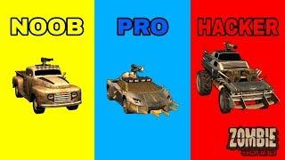 ZOMBIE SQUAD - NOOB VS PRO VS HACKER screenshot 4