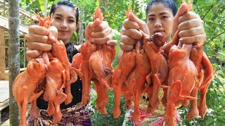 Yummy cooking Quail recipe  Cooking skill