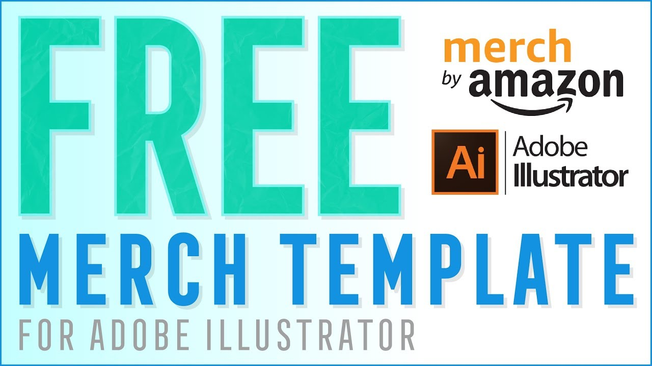 free merch by amazon template youtube
