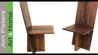 Build A Set Of Modern Chairs Part 2, Assemble And Finish