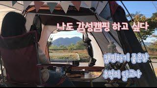 가을캠핑/생림오토캠핑장/버팔로오토텐트/달고나만들기/김치…