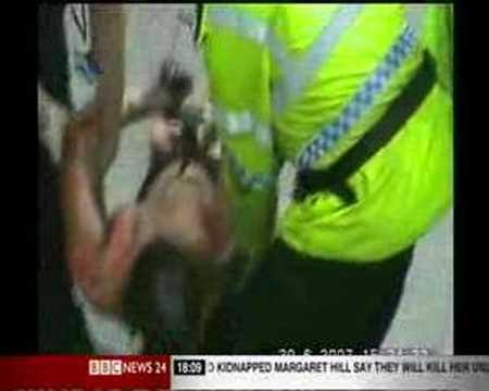 Glasgow Airport; New Arrest Footage.