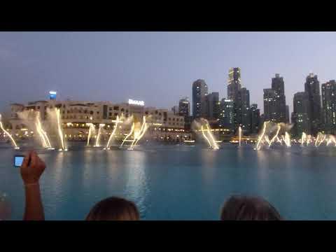 Dubai Fountain Show 2019 (HD)