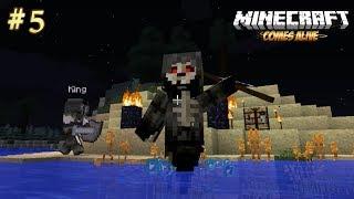 5 Melawan Grim Reaper  Minecraft Comes Alive 100 Baby Challenge