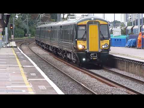 Trains at: Acton Main Line, 20 Sept 17