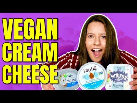 Non Dairy Cream Cheese / The Best Vegan Cream Cheese