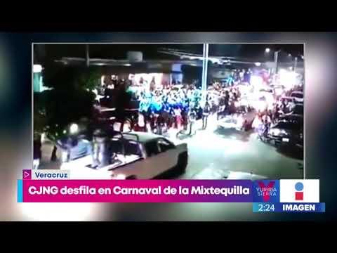 Captan a integrantes del CJNG en desfile de carnaval de Veracruz   Noticias  con Yuriria Sierra
