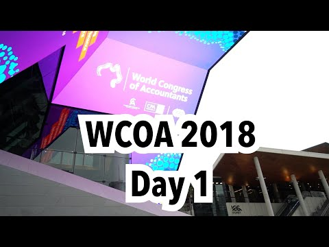 Day 1 report from the World Congress of Accountants 2018