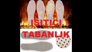 ayakkabı ısıtıcı tabanlık nasıl yapılır