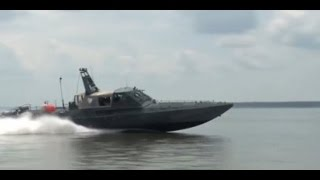U.S. Navy tests Drone Swarm Boats