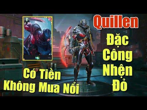 [Gcaothu] Trang phục mới Quillen Đặc Công Nhện Đỏ ra mắt - Có tiền không mua nổi