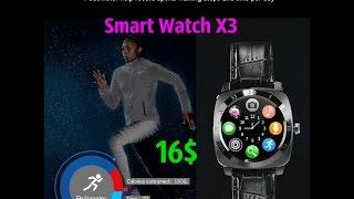 Iradish X3 Smartwatch стильные умные часы до 20$