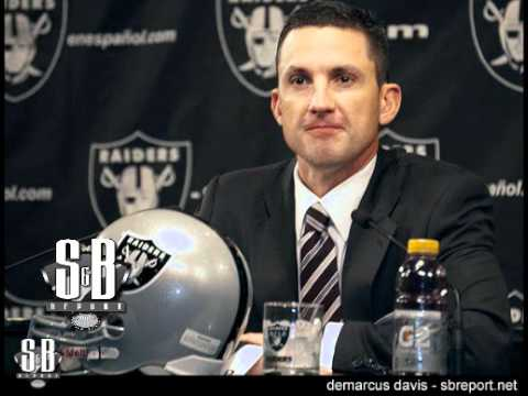 Dennis Allen One on One With Local Oakland Raiders Media