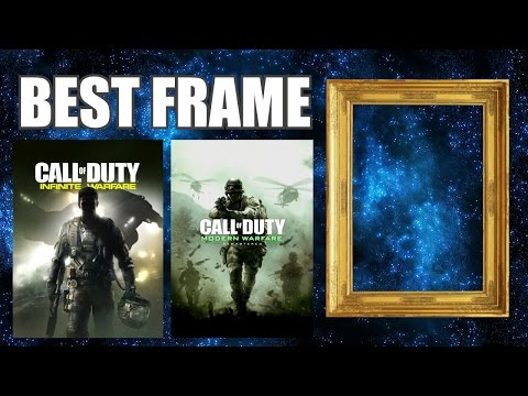 BEST FRAME For Call Of Duty Infinite Warfare/Modern Warfare Remastered Preorder Poster
