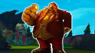BIG MAN BIG BELLY - How to Play Gragas Jungle Season 7 - League of Legends